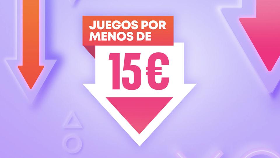 Juegos por menos de 15€ regresa a PlayStation Store