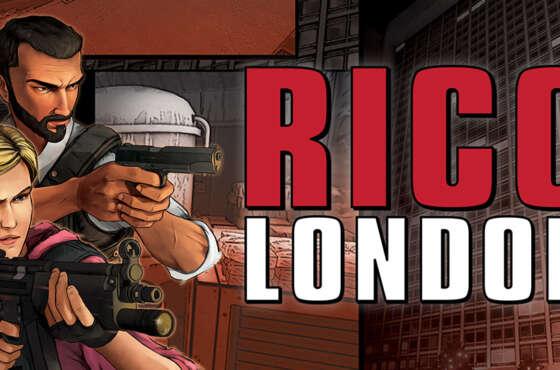 RICO London llega en formato físico para Nintendo Switch