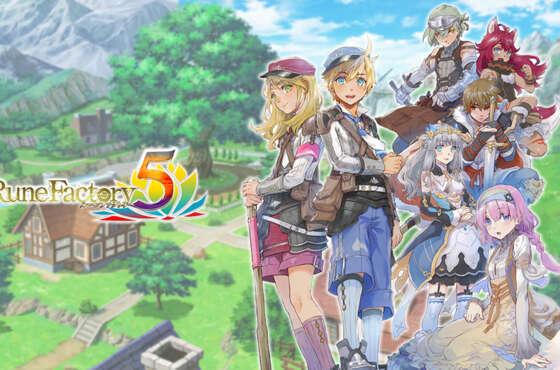 Rune Factory 5 se lanzará el 25 de marzo para Nintendo Switch