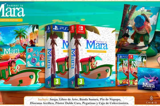 Summer in Mara anuncia Edición Coleccionista