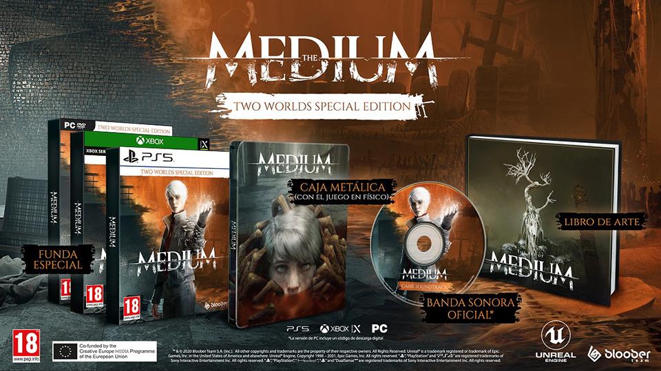 Ya a la venta The Medium para PlayStation 5