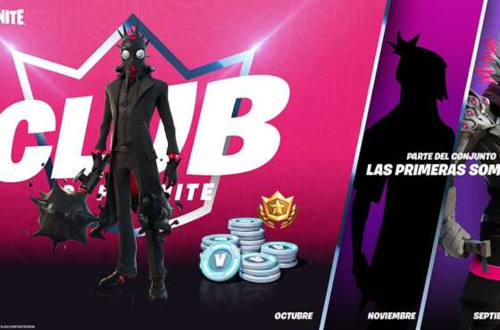 Ya disponible en PlayStation Store el Club de Fortnite de octubre