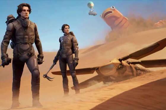 Parece que Dune llega a Fortnite