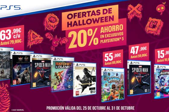 Halloween llega a las tiendas físicas con descuentos terroríficos en títulos de PS5