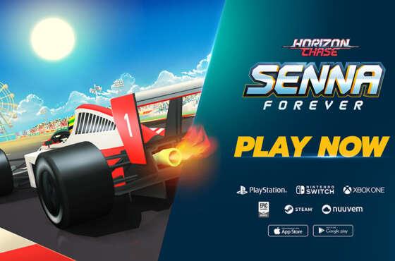Horizon Chase lanza Su esperada gran expansión «Senna Forever»