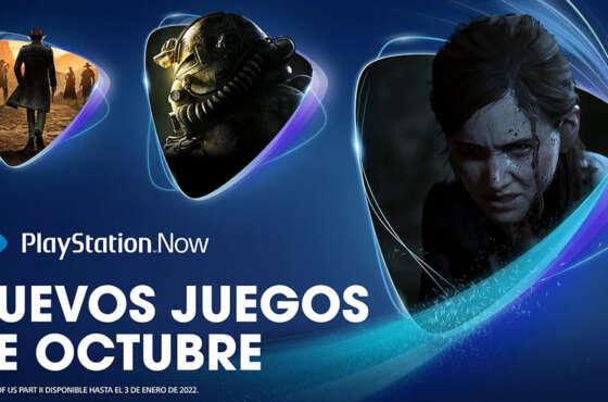 Novedades de octubre para PlayStation Now