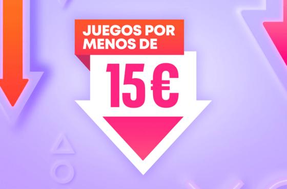 Juegos por Menos de 15€ vuelve a PlayStation Store