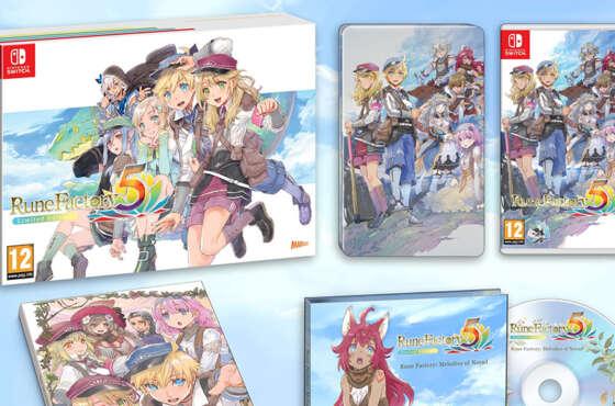 Se anuncia la edición limitada de Rune Factory 5