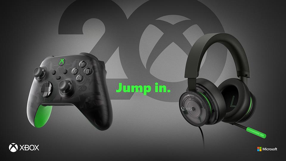 Xbox presenta dos nuevos accesorios con motivo de su 20 aniversario